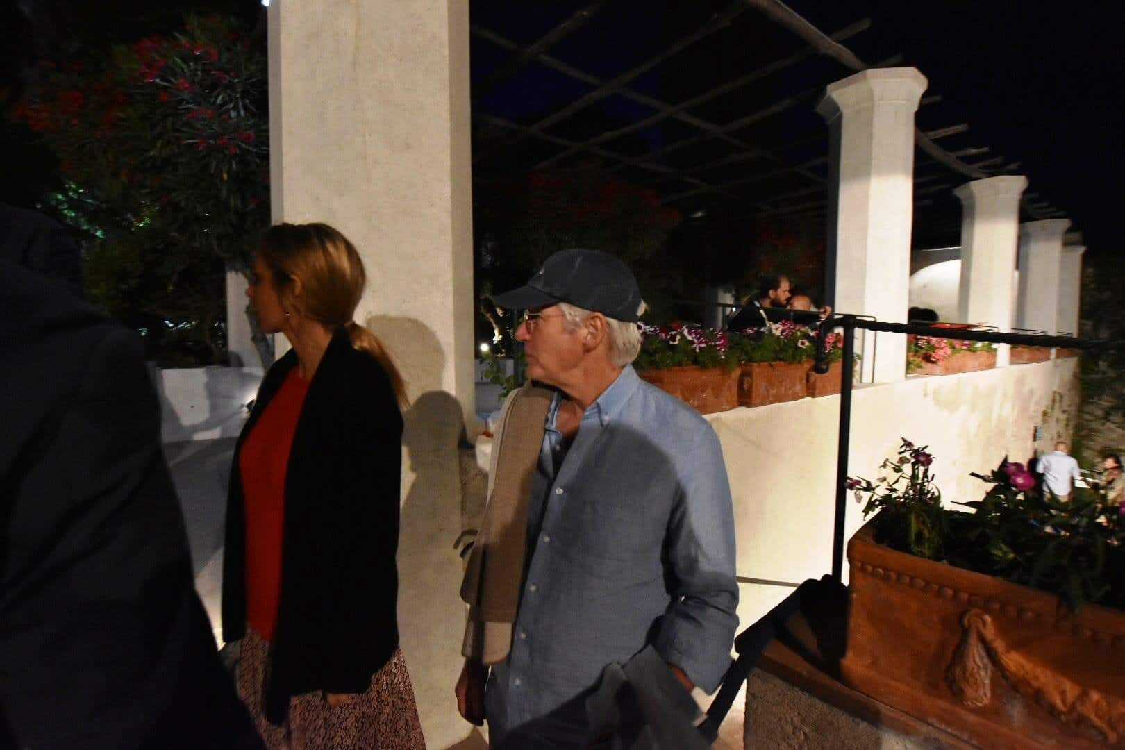 Richard Gere in Ravello for holiday